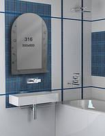 Зеркало для ванной комнаты 500х800 мм Ф316