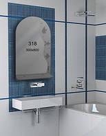 Зеркало для ванной комнаты 500х800 мм Ф318