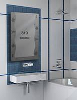 Зеркало для ванной комнаты 500х800 мм Ф319