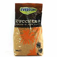 Сахар тросниковий Everton zucchero 1кг (Италия)