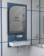 Зеркало для ванной комнаты 500х800 мм Ф320