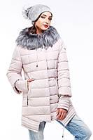 Молодежная куртка  с ассиметричным низом