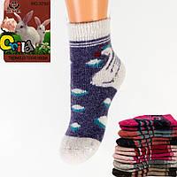 Детские ангоровые носки с махрой внутри Vesna 3790 22-28. В упаковке 12 пар