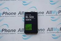 Аккумуляторная батарея для Nokia 100, 101, 1112, 1200, 1208, 1209, 1680c, (Li-ion 3.6V 850mAh) BL-5CA