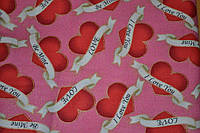 Хлопковая ткань Love