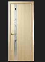 Двери ПВХ с фотопечатью Зеркало 2 Люкс