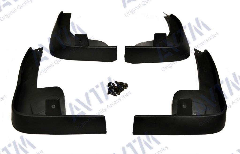 Брызговики полный комплект для Nissan Tiida sd/hb 2005 комплект 4шт MF.NISTII2005