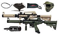 Комплект для пейнтбола Tippmann Cronus TACTICAL HP 0,8 Маска V-Force Armor