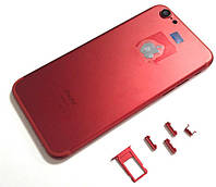 "Крышка задняя iPhone 6S (4.7"") подобно 7 Red"