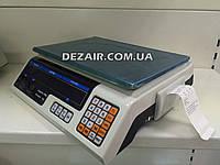Торговые весы DH-9 с чекопечатью (40кг/5гр) (СВ)