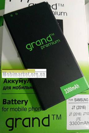 Аккумулятор grand premium BP65300 для Samsung Galaxy j7 (2016) j710 3300mAh, фото 2