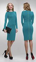 """Платье миди женское-футляр """"на каждый день"""", платье классическое ниже колен, разные цвета и размеры., фото 1"""