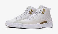 Jordan 12 Gold White