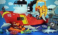 Игровой набор животные Animal Planet Deep Sea Shark Research Playset - 30 Piece