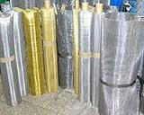 Мариуполь Купить Сетка тканая нержавеющая латунная плетеная фильтровальная металлическая с ячейками от 0,002мм, фото 1