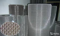 Черкассы Купить Сетка тканая фильтровальная металлическая латунная плетеная проволочная разм. 0,14х0,09х1000мм, фото 1