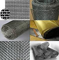 Харьков Купить Сетка тканая фильтровальная металлическая нержавеющая латунная плетеная с ячейкой1,25х0,4х100мм