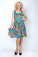 Батальное женское платье