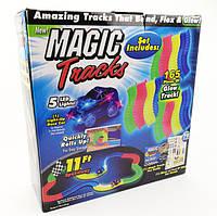 Детская  игрушечная  дорога конструктор гоночный  трек  MAGIC TRACKS 165 ДЕТАЛЕЙ + МАШИНКА