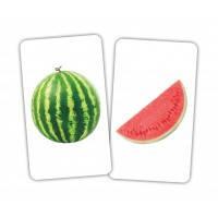 Карточки Домана Игра Фрукт и долька Вундеркинд с пелёнок 2513