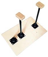 Трости-стоялки тренировочные с подставками.