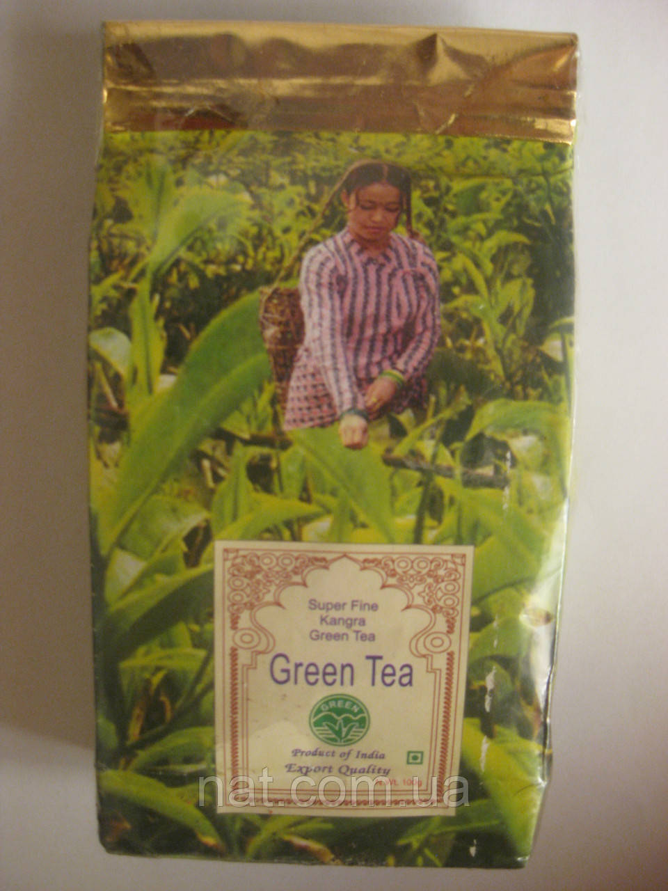 Super Fine Kangra GREEN TEA, 100 г