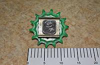 Звезда Z-14 t 25.4 нат прив бит. в сб. с ползуном 3518060-18630