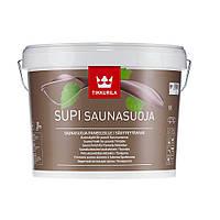 Супи Саунасуоя  Колеруемый акрилатный защитный состав  для обработки стен и потолков во влажных помещениях 2,7