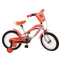 Велосипед PROFI детский 12д. SX12-01-1 звонок,приставные колеса, фото 1
