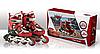 Ролики Disney Сars с металлической рамой (RS0108/1) Red