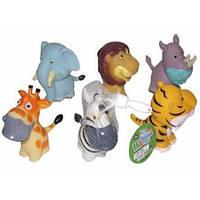 Резиновые игрушки - животные 12,7см