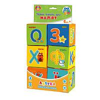 Малятко. Набір кубиків Абетка VT1401-02 (укр.)