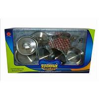 Набор посуды детский металлический (YTY TOYS)