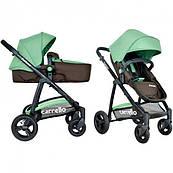 Универсальная коляска-трансформер CARRELLO Fortuna GREEN (CRL-9001 GREEN)
