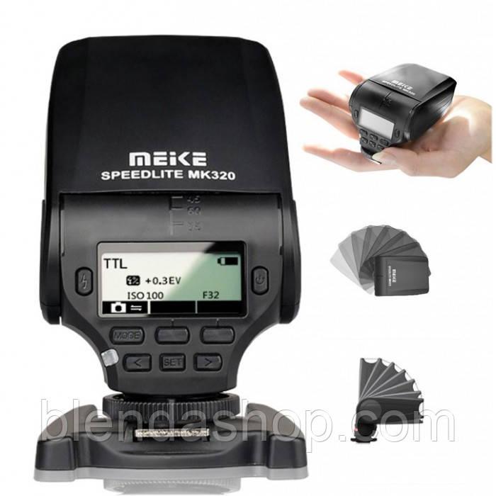 Вспышка для фотоаппаратов Nikon - MEIKE MK-320 (MK-320N) с I-TTL