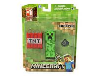 "Игрушка набор ТМ MINECRAFT фигурка с аксессуарами арт.16503 ""Creeper"""