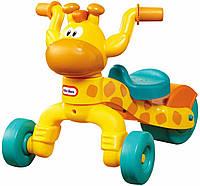 Детская каталка мини велосипед Жирафа на колесах - Little Tikes - США - яркий дизайн