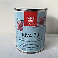 Tikkurila Kiva 70, Кива лак глянцевый 0,9л