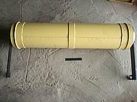 Вал транспортера нижний в сборе с рычагами Вектор 142.03.00.200-01