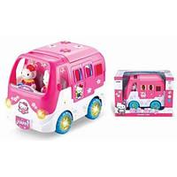 Игрушка-автобус на батарейках, свет, звук