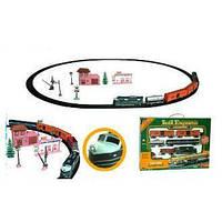 Железная дорога свет + звук, работ от батарей (FENFA)