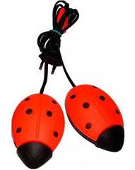 """Электрическая сушилка для обуви """"Солнышко"""" в ассортименте Красный"""