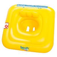 BW Плотик 32050 (24шт) детский желтый 69-69 см