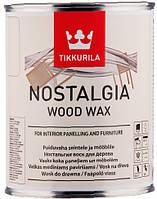 Nostalgia Ностальгия воск для мебели и стен Цвет изюм 0,333л
