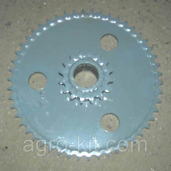Блок зірочок Z-50 Z-16 t-19.05 приводу мотовила 3518050-10300А