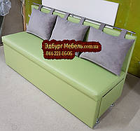 Диван для узкой комнаты с ящиком + спальным местом 1800х500х870мм