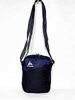 Мужская спортивная стильная повседневная сумка на плечо ONE POLAR 5693 синяя