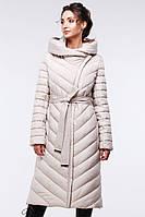 Шикарное длинное зимнее пальто