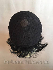 Парик ручной работы №5 Цвет черный натуральный
