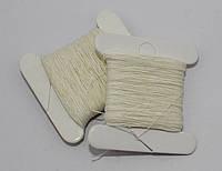 Нить хлопковая для ручного шитья 30 м
